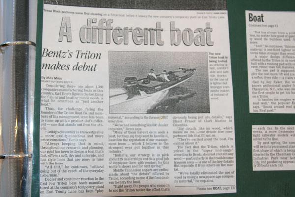 トライトンボート3