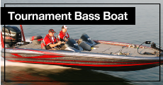 Tournament Bass Boat